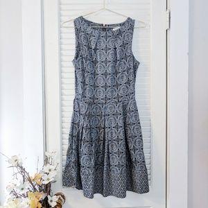 Modcloth Closet Victorian Print Fit & Flare Dress